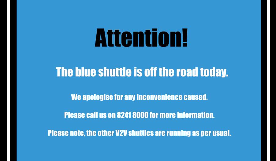 blue V2V update